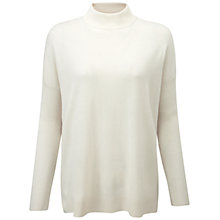 Buy Pure Collection Queensgate Jumper, Soft White Online at johnlewis.com