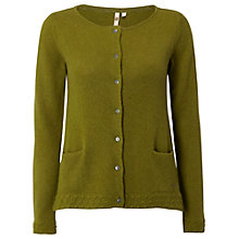 Buy White Stuff Pillow Cardigan, Tarragon Online at johnlewis.com