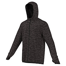 Buy Adidas Kanoi Men's Hooded Wind Jacket, Dark Grey Online at johnlewis.com