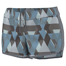 Buy Adidas M10 Printed Running Shorts, Grey Online at johnlewis.com