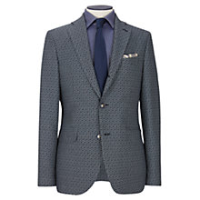 Buy Duchamp Woven Basketweave Tailored Blazer, Grey Online at johnlewis.com