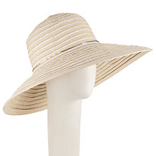 Buy Seafolly Shady Lady Babylon Hat, White Online at johnlewis.com