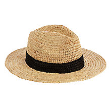 Buy Seafolly Shady Lady Laharya Fedora, Natural Online at johnlewis.com