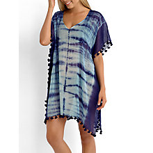 Buy Seafolly Deja Project Kaftan, Blue Online at johnlewis.com