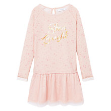 Buy Mango Kids Girls' Tulle Dress, Pink Online at johnlewis.com