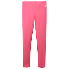 Buy Little Joule Girls' Jersey Leggings, Pink Online at johnlewis.com