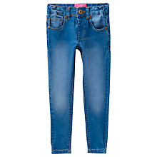 Buy Little Joule Girls' Denim Jeans, Blue Online at johnlewis.com