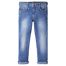 Buy Mango Kids Skinny Fit Jeans, Blue Online at johnlewis.com