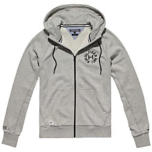 Buy Tommy Hilfiger Kevin Z-Thru Hoodie, Cloud Heather Online at johnlewis.com