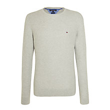 Buy Tommy Hilfiger Honeycomb Knit Cotton Jumper Online at johnlewis.com