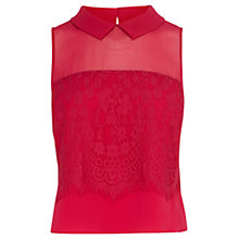 Buy Coast Lisabet Lace Top Online at johnlewis.com