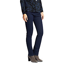 Buy East Straight Leg Denim Jeans, Indigo Online at johnlewis.com