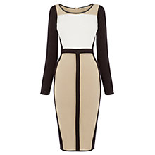 Buy Oasis Colourblock Tube Dress, Multi Online at johnlewis.com