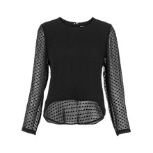 Buy Whistles Dree Peplum Blouse Online at johnlewis.com