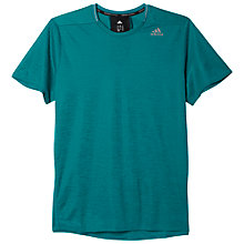 Buy Adidas Supernova Men's T-Shirt, Green Online at johnlewis.com