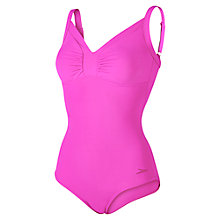 Buy Speedo Sculpture Watergem Adjustable 1 Piece Swimsuit, Pink Online at johnlewis.com