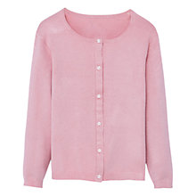 Buy Mango Kids Girls' Star Button Cardigan, Pink Online at johnlewis.com