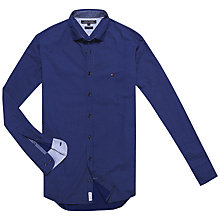 Buy Tommy Hilfiger Aiden Print Shirt, Peacoat/Vintage Blue Online at johnlewis.com