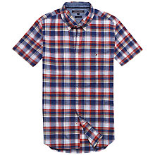 Buy Tommy Hilfiger French Check Shirt, Multi Online at johnlewis.com