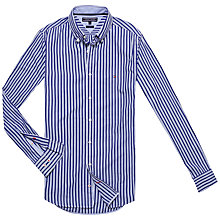 Buy Tommy Hilfiger Bree Bold Stripe Shirt, Dutch Navy/Royal Blue Online at johnlewis.com