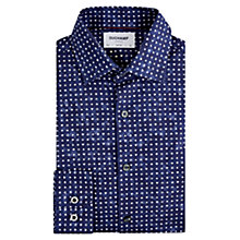 Buy Duchamp Playing Card Slim Fit Shirt, Navy Online at johnlewis.com