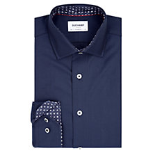 Buy Duchamp Herringbone Tailored Fit Shirt Online at johnlewis.com
