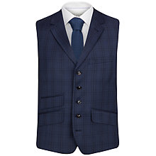 Buy Ted Baker Regsqu Check Tailored Waistcoat, Purple Online at johnlewis.com