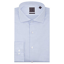 Buy Calvin Klein Chevron Tailored Fit Shirt, Blue/White Online at johnlewis.com