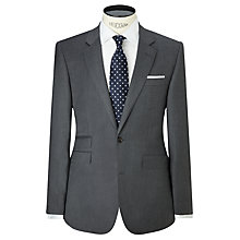 Buy John Lewis Summer Flannel Tailored Suit Jacket, Grey Online at johnlewis.com