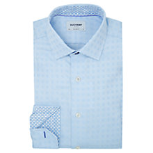 Buy Duchamp Optic Square Tailored Fit Shirt Online at johnlewis.com
