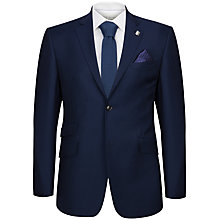 Buy Ted Baker Regkom Tailored Suit Jacket, Dark Blue Online at johnlewis.com