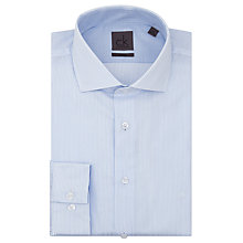 Buy Calvin Klein Pale Stripe Tailored Fit Shirt, Blue/White Online at johnlewis.com