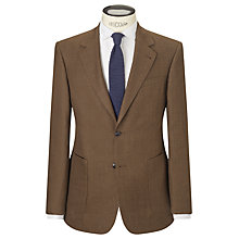 Buy JOHN LEWIS & Co. Holden Linen Wool Tailored Fit Suit Jacket, Brown Online at johnlewis.com