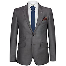 Buy Ted Baker Regmarj Wool Tailored Suit Jacket, Grey Online at johnlewis.com