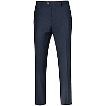 Buy Ted Baker Hopskit Micro Check Modern Fit Suit Trousers, Teal Online at johnlewis.com