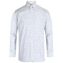 Buy Ted Baker Farnley Shirt, White/Grey Online at johnlewis.com