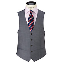 Buy John Lewis Sharkskin Waistcoat, Ice Blue Online at johnlewis.com