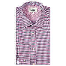 Buy Ted Baker Abadi Tonal Texture Tailored Shirt Online at johnlewis.com