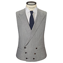 Buy JOHN LEWIS & Co. Whitehorn Wool Linen Basketweave Tailored Waistcoat Online at johnlewis.com