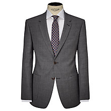 Buy JOHN LEWIS & Co. Storey Large Check Tailored Suit Jacket, Grey Online at johnlewis.com