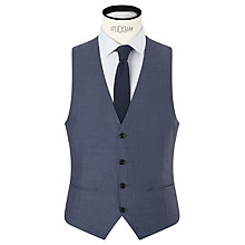 Buy Kin by John Lewis Byrne Plainweave Slim Fit Waistcoat, Airforce Online at johnlewis.com