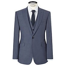 Buy Kin by John Lewis Byrne Plainweave Slim Fit Suit Jacket, Airforce Online at johnlewis.com