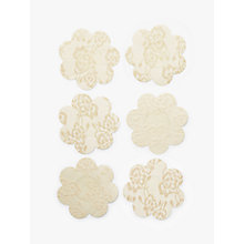 Buy John Lewis 3 Pack Fabric Breast Petals, Nude Online at johnlewis.com