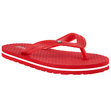 Buy John Lewis Children's Red Star Flip Flops Online at johnlewis.com