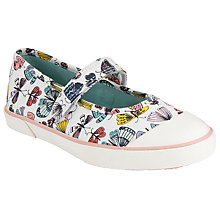 Buy John lewis Children's Daisy Butterfly Rip-Tape Shoes, Multi Online at johnlewis.com