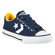 Buy Converse Star Player Shoes, Navy/White Online at johnlewis.com