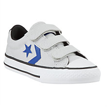 Buy Converse Star Player Shoes, Grey/Blue Online at johnlewis.com