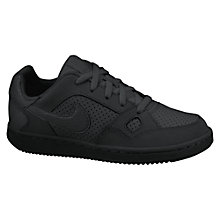Buy Nike Children's Son of Force (PS) Lace-Up Trainers, Black Online at johnlewis.com