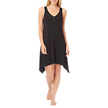 Buy DKNY Urban Essentials Chemise, Black Online at johnlewis.com