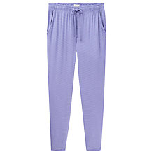 Buy Joules Zena Jersey Stripe Pyjama Pants, Navy Online at johnlewis.com